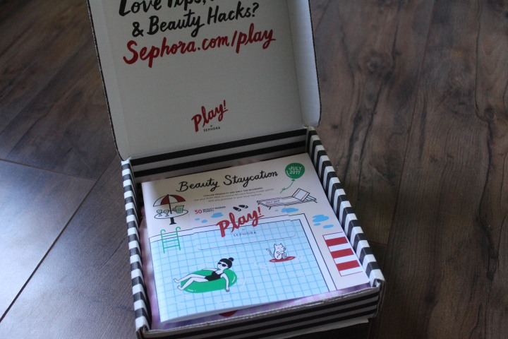 July '17 Sephora Play Unboxing