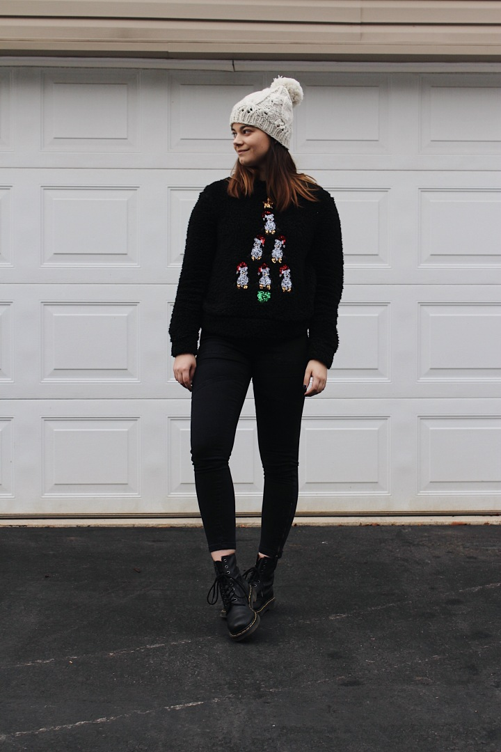 4 Ways to Wear Your Holiday Sweater This Season