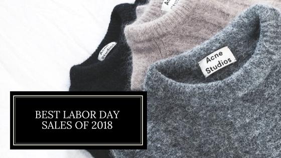 My Top 6 Labor Day WeekendSales