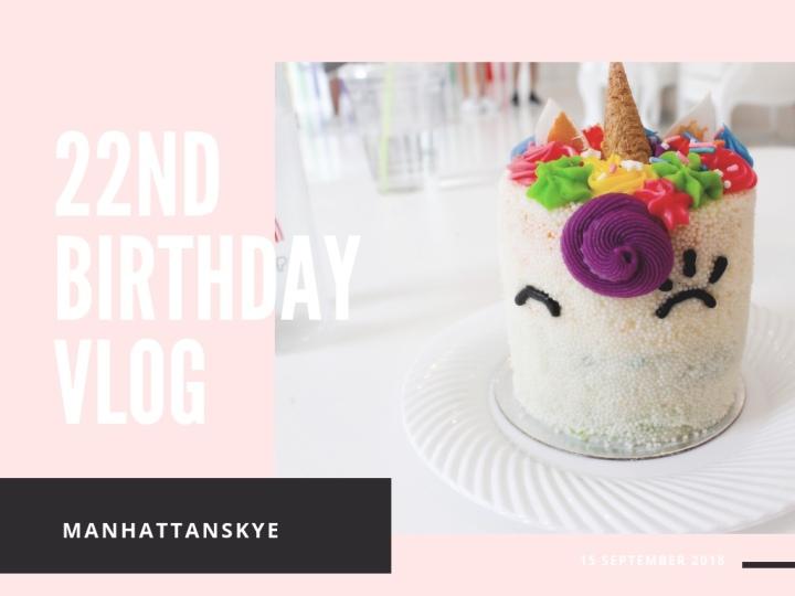 22nd Birthday Vlog |NYC