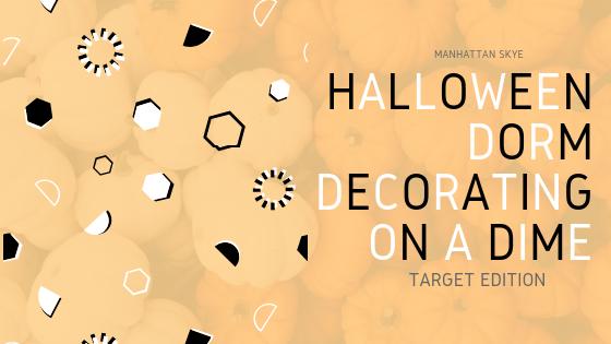 Halloween Dorm Decor on a Dime: TargetEdition
